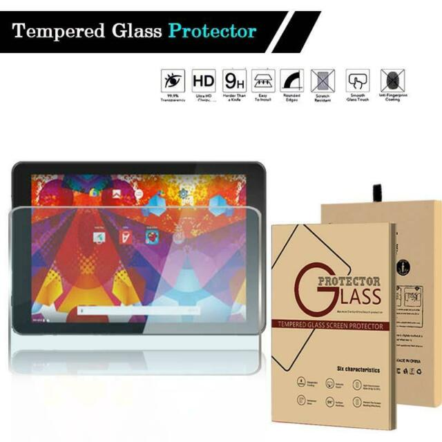 """2 Pack Clear Tablet Screen Protector Guard For 10.1/"""" Bush Spira B1"""