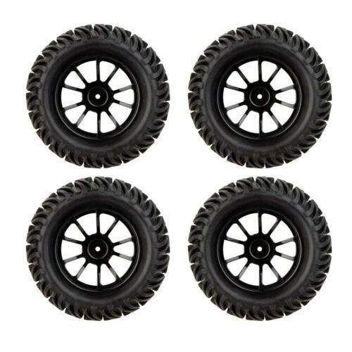 4x MagiDeal RC pneumatici per pneumatici e ruote per ruote HSP 1:10 RC