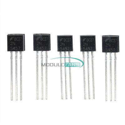 10PCS 2N5457 FSC JFET N-CH 25 V 625 mW TO92 MF