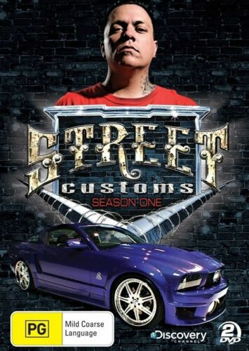 1 of 1 - Street Customs : Season 1 (DVD, 2010, 2-Disc Set) - Region 4