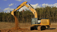 Cat Caterpillar Excavator 336e Track Hoe Custom Large 43 X 24 Hd Poster.