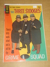 THREE STOOGES #40 FN (6.0) GOLD KEY COMICS SEPTEMBER 1968