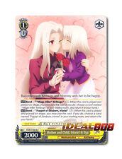 Weiss Schwarz Fate/Zero x 4 Mother and Child, Irisviel & Ilya [FZ/S17-E014 U] En