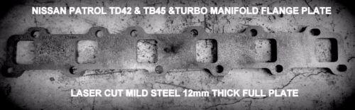 Manifold Header Plate for Nissan Patrol /& Ford Maverick TD42, TB42 /& TD45