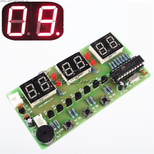 C51-6-Bits-Digital-Electronic-Clock-Electronic-Production-Suite-DIY-Kits-SE