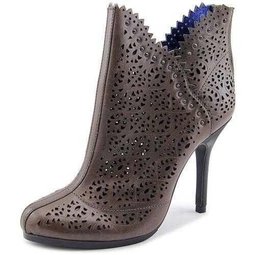 Juicy Couture Karina cuero botas Sz 10 corte láser al al al tobillo Botines Nuevo  348  bajo precio del 40%