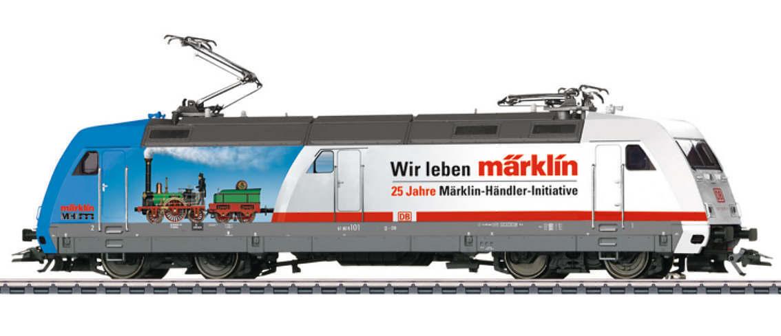 Märklin HO 39374 elektrolokomotive BR 101 DB AG 25 anni MHI MFX + SUONI NUOVO OVP