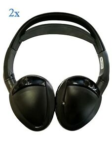2001 to present Honda Accord Folding Wireless Headphones 2 Channel IR