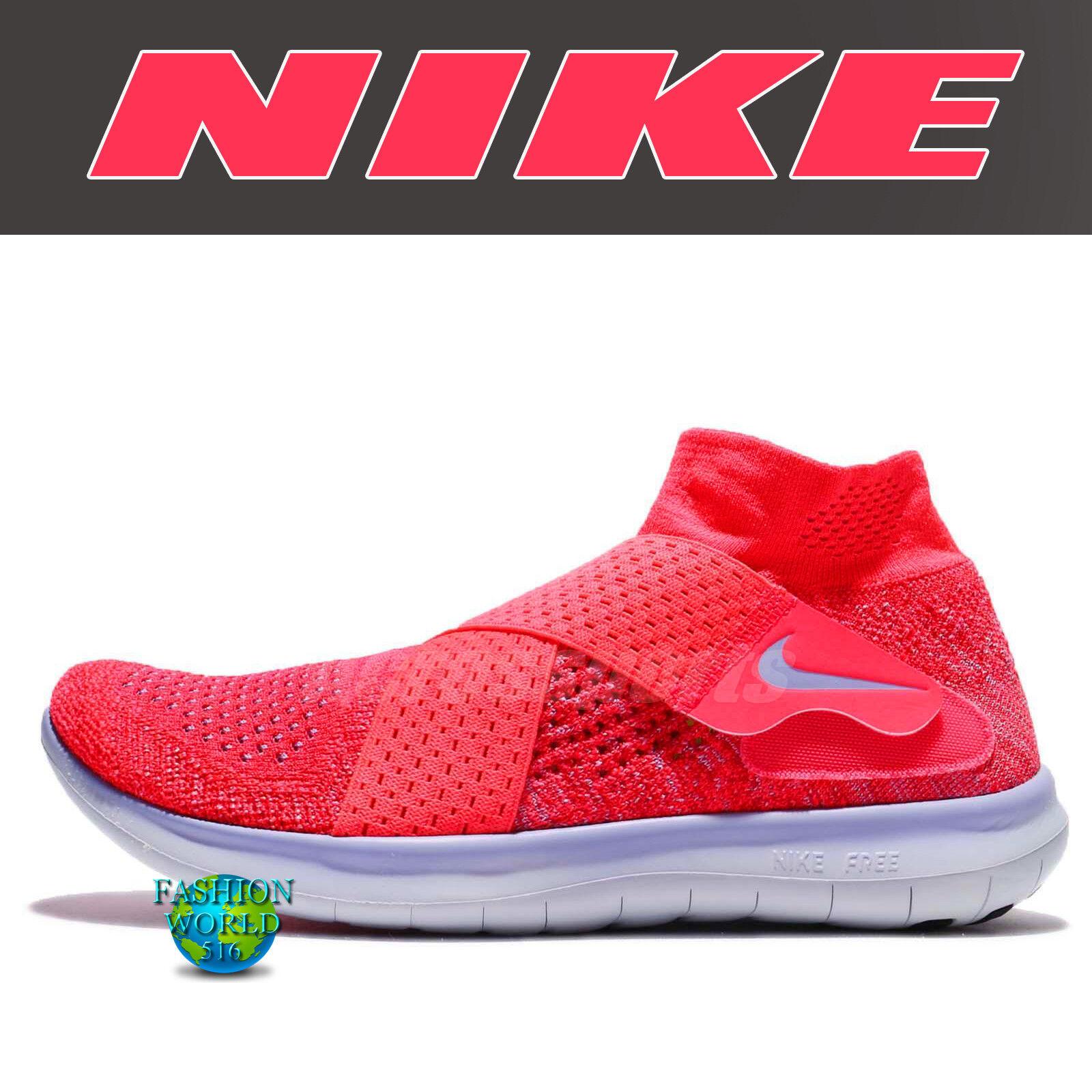 Nike Women's Size 8.5 Free Rn Motion Flyknit 2017 Running Shoe 880846 601