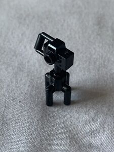 LEGO Black Camera For Minifigure With Zoom Lego Parts Spares