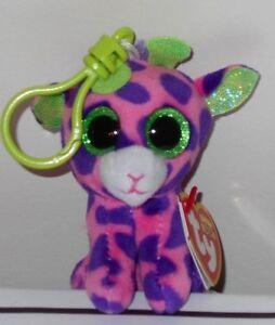 Ty Beanie Boos ~ GILBERT the Giraffe Key Clip Size (3.5 Inch) NEW ... 423210d71fd9