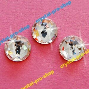 21153e0bf2 Genuine Swarovski 2072 Rose Cut Round (No Hotfix) Flat back Crystal ...