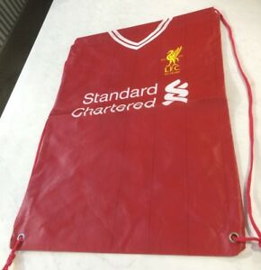 best cheap 64146 dc44c Details about Liverpool Football Club Reusable Kit Bag The Reds F.C Boot  Bag Gym Bags NWA NEW