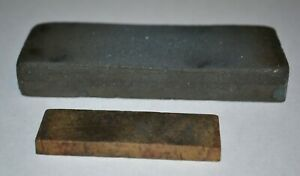 2-VINTAGE-SHARPENING-STONES-5-X-2-HAS-FINE-AND-COURSE-SIDES-AND-3-X-1