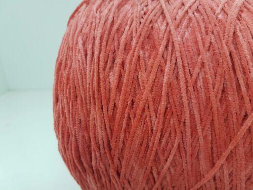 cr14 Wolle natur Garn Stricken /& Handstricken Chenille 100/% baumwolle rot 1,7kg