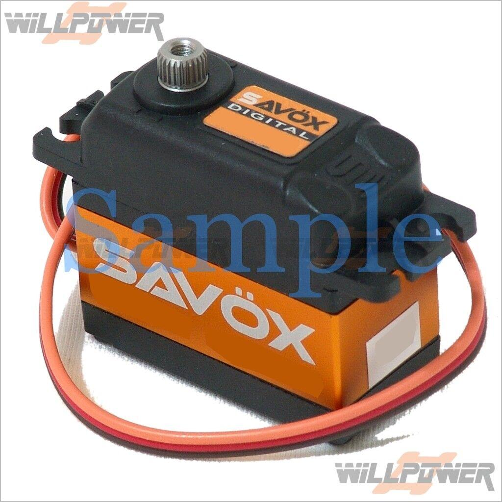 Savox Digital Brushless Servo  SB-2272MG (RC-Willenergia) Torque Speed Steel Gear