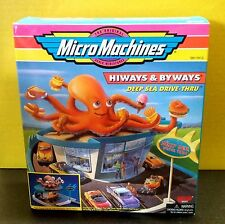 NIB Micro Machines Deep Sea Drive Thru Hiways Byways Playset Galoob Diner 1997
