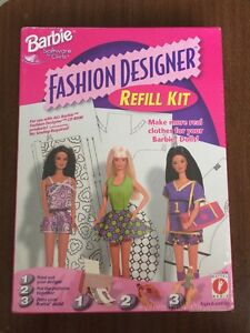 Barbie Fashion Designer Refill Kit Software For Girls Nib 17769 New Make Clothes Ebay