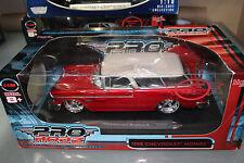 Maisto 1:18 Scale Pro Rodz Series 1955 CHEVROLET NOMAD (RED)