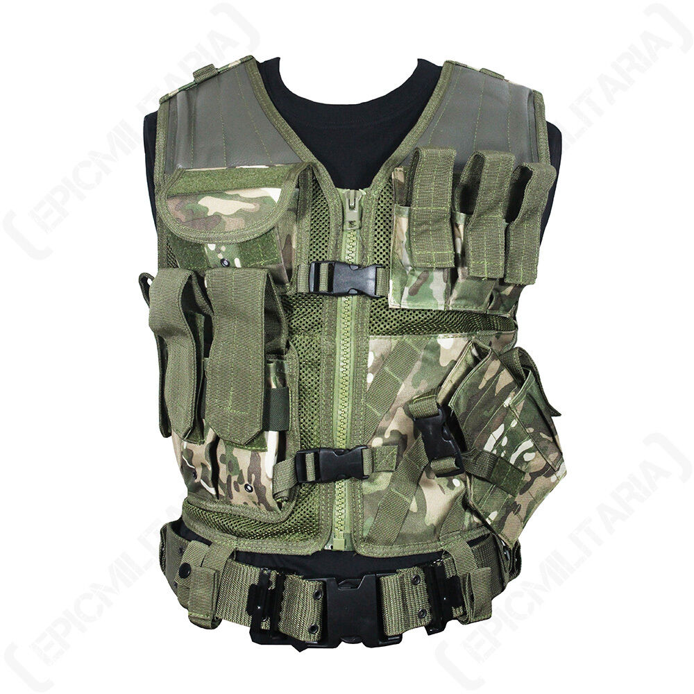 MULTITARN USMC TATTICO GILET - Military Combat Assalto Airsoft Paintballing