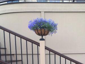 Tru Post Planter Basket That Fit A 4 5in X 4 5in Trex Transcend