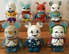 """Vinylmation Cutesters Series 6 """"Snow Day""""  Set Of 7"""