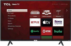 "TCL 43S435 43"" 4K Ultra HD HDR Roku Smart LED TV"