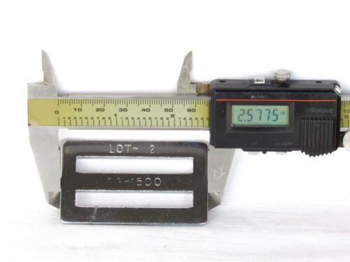 SEATBELT BRACKET Aircraft Seat Belt Part CS-1500 LOT-2  Heavy Duty Steel USA