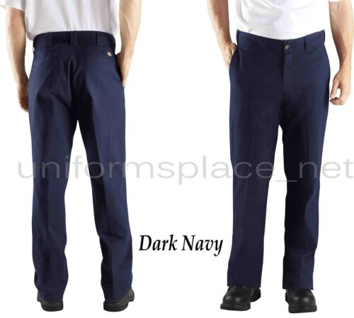 Dickies Pants Relaxed Straight Fit Work Pant Brushed Twill WP379 Black Navy Sand