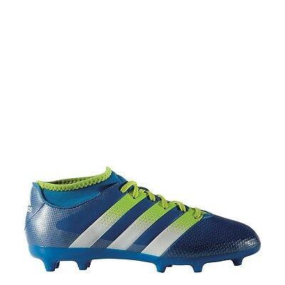 adidas ACE 16.3 Primemesh FG/AG Junior Fußballschuhe mit Knöchel Socken blau