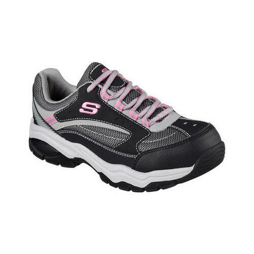 comprar el más nuevo descuento en venta mayor selección Skechers Women's Work Biscoe Steel Toe Sneaker for sale online