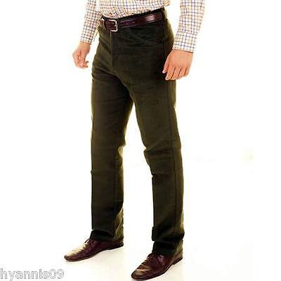 Mens Moleskin 100/% Cotton Trouser Hunting Walking Fishing Country Clothing 30-50
