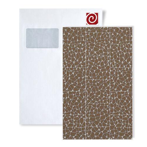 Tapeten Muster EDEM 928-SerieXXL Luxus-Decor Vliestapete mosaik-fliesen-stein