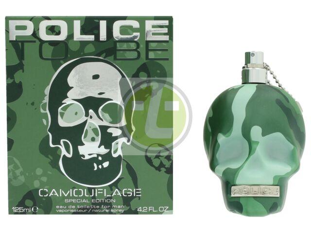 Police To Be Camouflage For Man Edt Spray 125ml MEN Eau de Toilette