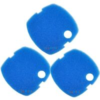 3pcs Aquarium Coarse Filter Pad Sponge For Sunsun/perfect/grech Hw-302 Canister