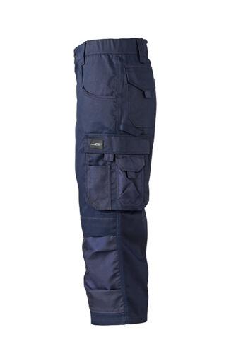 JN834 JAMES /& NICHOLSON Workwear 3//4 Hose kurze Hose Bermuda Arbeitshose Cargo