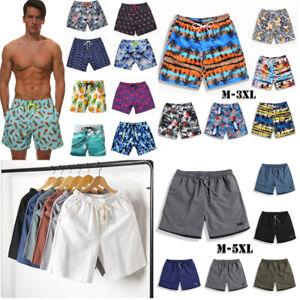 Men-039-s-Swimwear-Cargo-Shorts-Casual-Summer-Beach-Print-Pants-Holiday-Board-Pants
