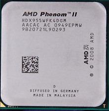 AMD CPU Phenom II X4-955 HDX955WFK4DGM 3.2GHz Socket AM3 TDP 95Watt