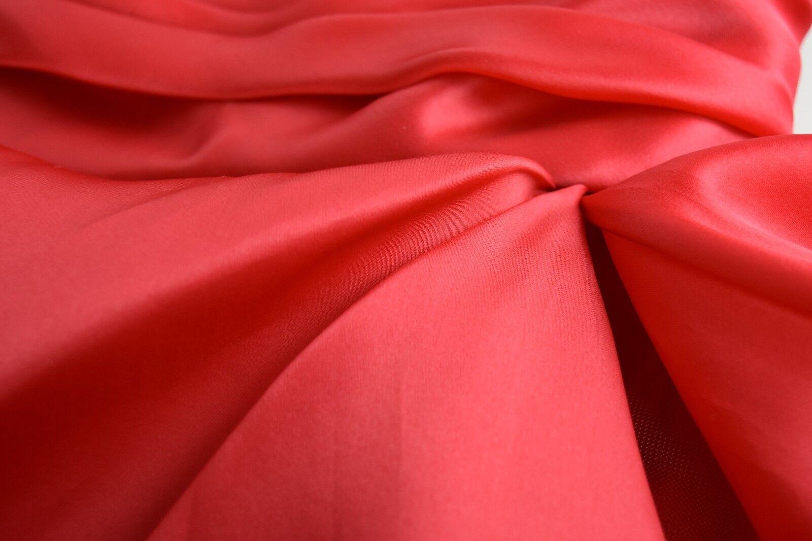 Nuovo 2017 Marchesa Perline Perline Perline Ingioiellato senza Spalline Lunghezza Tè Rosso Abito 54bffd