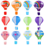 1Pcs-Hot-Air-Balloon-LANTERNA-Lampadario-da-soffitto-camera-da-letto-Lampada-Home-Decor miniatura 2
