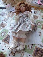 NRFB Caroline By Pamela Phillips Porcelain Doll Georgetown Collection
