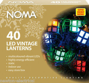New-Noma-40-LED-Traditional-Vintage-Style-LED-Victorian-Lanterns-Multi-Colour