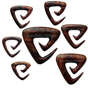 Diszipliniert 1 X Sono Holz Dreieck Spirale Biologische Selten Handgemacht Neu Stil Schmuck