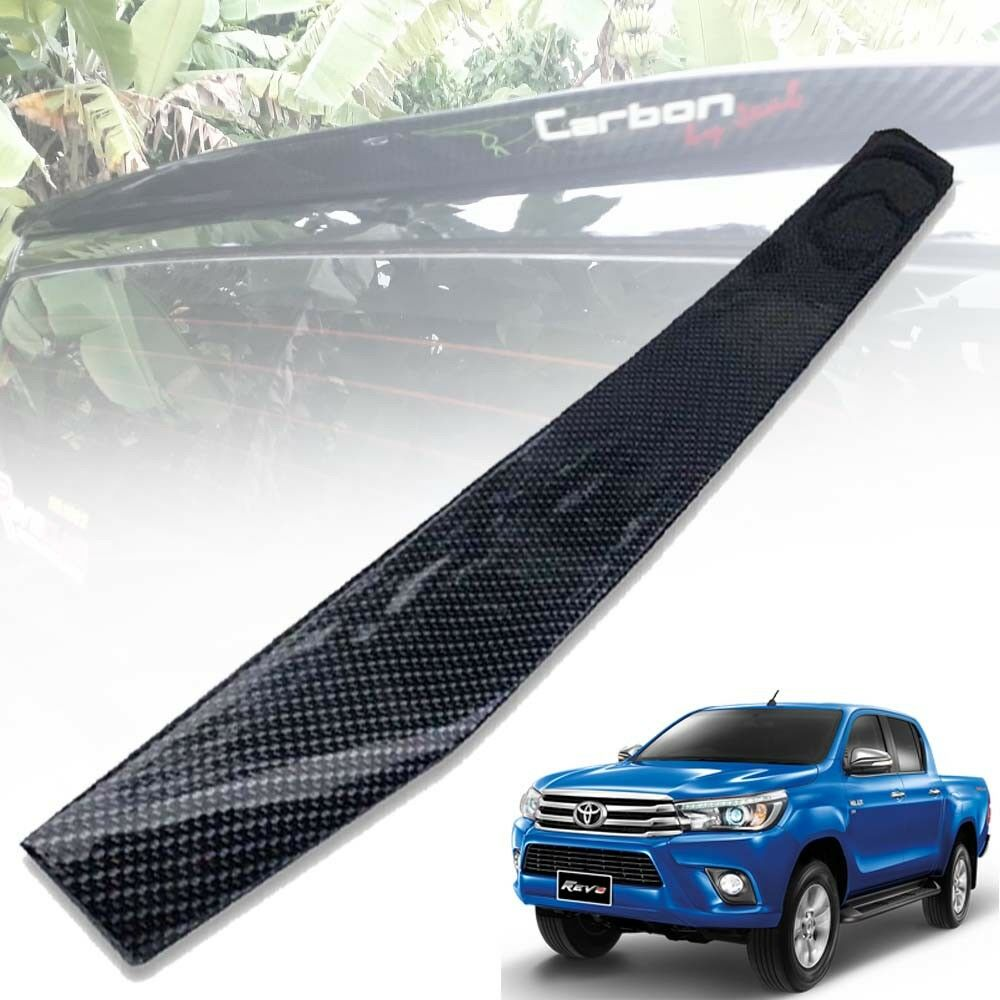 Details about REAR ROOF SPOILER WING CARBON KEVLAR FOR TOYOTA HILUX REVO  M70 M80 15 16 17 18