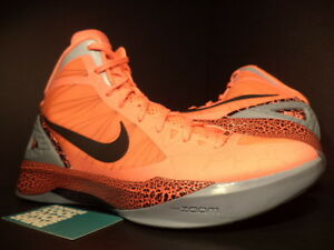 42277ae48874 Nike Zoom HYPERDUNK 2011 BG BLAKE GRIFFIN MANGO ORANGE BLACK 484935 ...