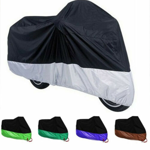 Anti Rain Waterproof Motorcycle Cover Dust Shield Prevent Frost Sun Shade
