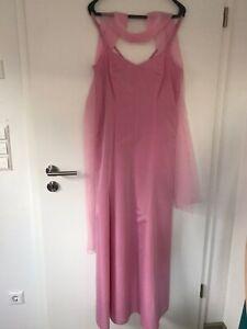 Schones Festliches Kleid Abendkleid Von Vera Mont Rosa Grosse 42 Ebay
