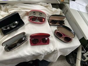 Lot-Of-6-SUNGLASSES-VTG-Ray-Ban-Marc-Jacobs-Camuto-Hahn