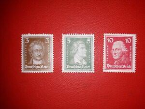 Weimar Republic 1926, Michel 385/388/390 in MNH **.