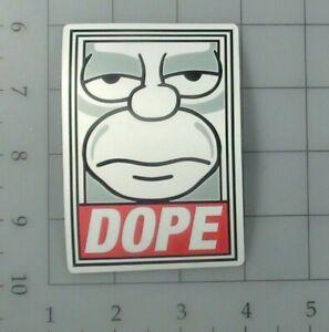 The Simpsons Skateboard Sticker #6